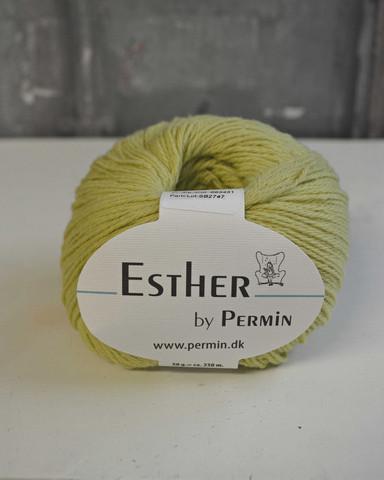 Esther 431 vaaleankeltainen