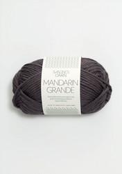 Mandarin grande, mörkgrå 5870