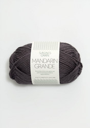 Mandarin grande, tummanharmaa 5870