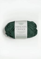 Mandarin grande, tummanvihreä 8052