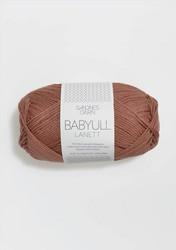 Sandnes Babyull Lanett, brunrosa 3544