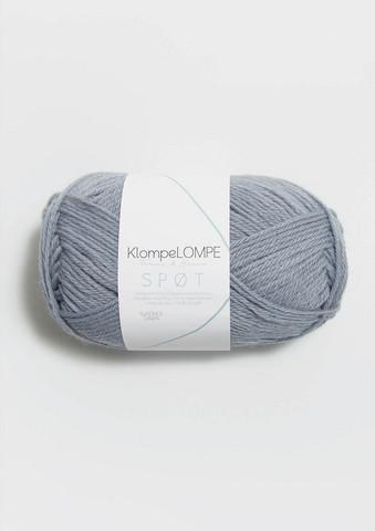 Klompelompe Spøt, ljust linblå 6041