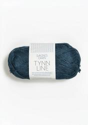 Tunn Line, mörkblå 6364