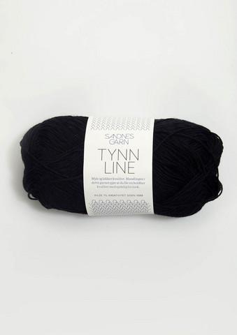 Ohut Line, musta 1099