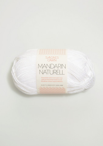 Mandarin Naturell, 1001 vit