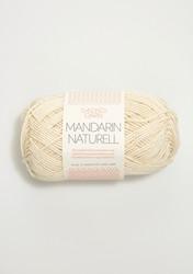 Mandarin Naturell, 1012 naturvit