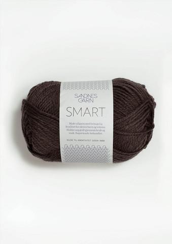 Sandnes Smart, tummanruskea 4071