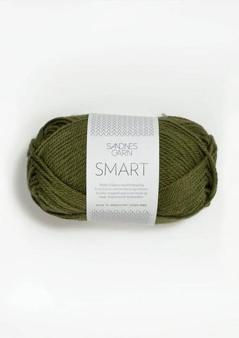 Sandnes Smart, oliivinvihreä 9553