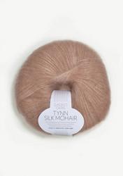 Tunn Silk Mohair, puderrosa 3511