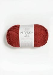 Alpakka Ull, terrakotta 4035
