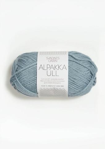 Alpakka Ull, isblå 6531