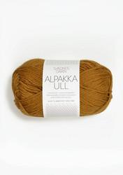 Alpakka Ull, senapsgul 2335