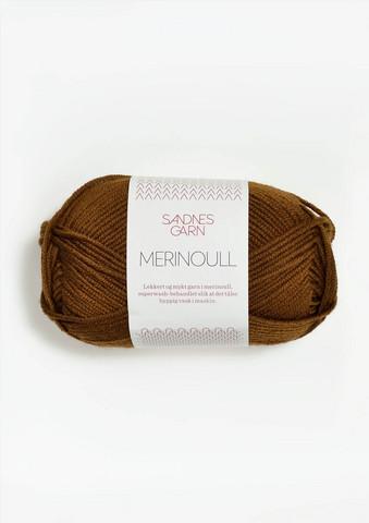 Sandnes Merinoull, gyllenbrun 2564