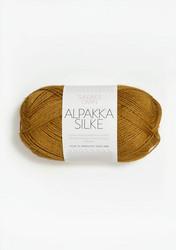 Sandnes Alpakka Silke, ockra 2135