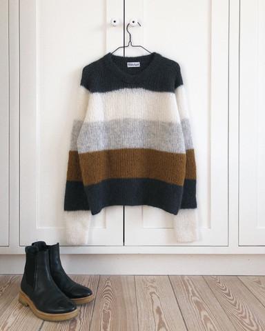 Sekvens sweater, ruotsinkielinen ohje