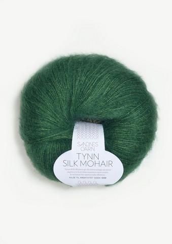 Ohut Silk Mohair, smaragdi 7755