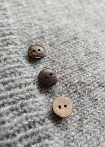 Sileä kookosnappi, 13 mm