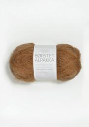 Børstet Alpakka, brunt socker 2543