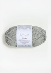 SUNDAY Petite Knit, foggy grey 1031