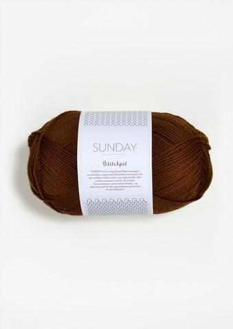 SUNDAY Petite Knit, chocolate truffle 2564