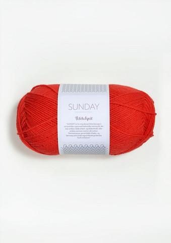 SUNDAY Petite Knit, that orange feeling 3819