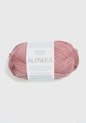 Sandnes Alpakka sumuinen roosa 4023