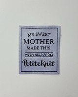 'My sweet mother made this' märke