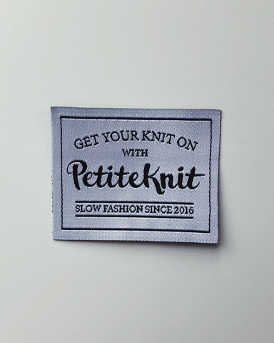 'Get your knit on' märke