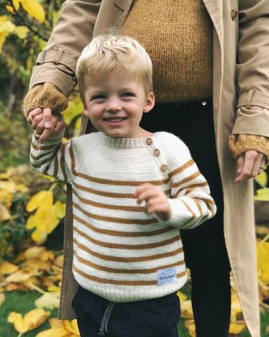 Seaside sweater, ruotsinkielinen ohje