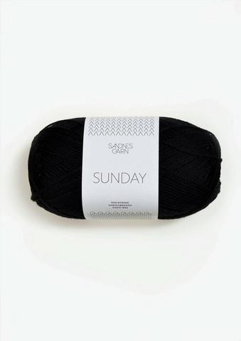 SUNDAY, svart 1099