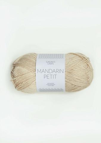 Sandnes Mandarin Petit, mandelvit 3011