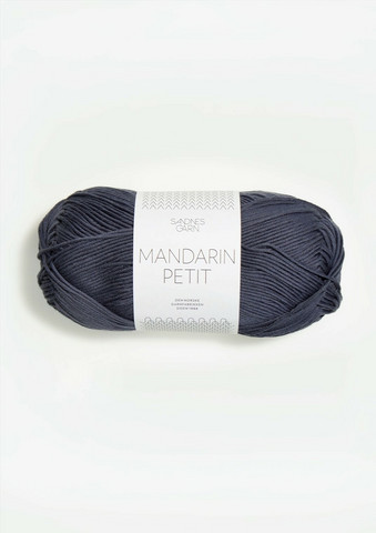 Sandnes Mandarin Petit, tumma harmaansininen 6061