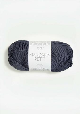 Sandnes Mandarin Petit, mörkt gråblå 6061