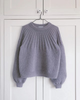 Sunday sweater mohair edition, ruotsinkielinen ohje