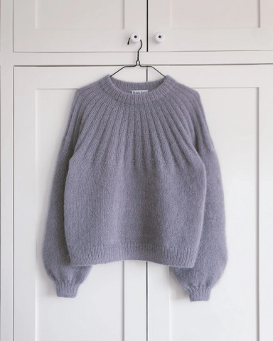 Sunday sweater mohair edition, på svenska