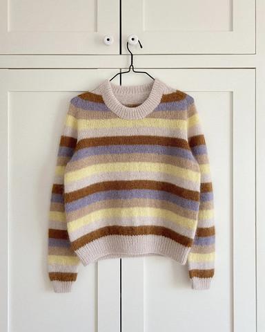Aros sweater, ruotsinkielinen ohje