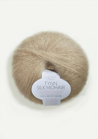 Ohut Silk Mohair, vaalea beige 3021
