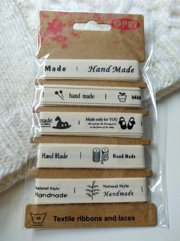 'Handmade' band, 5 st x 1 m