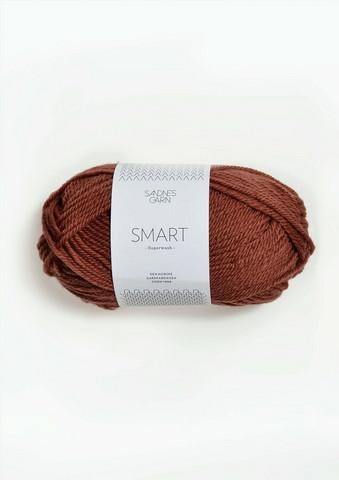 Sandnes Smart, terrakotta 3544