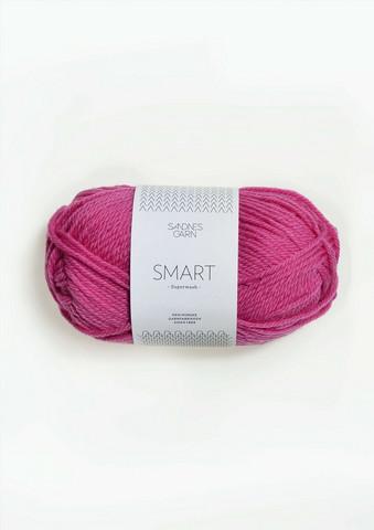 Sandnes Smart, varmrosa 4616