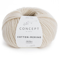 Concept by Katia Cotton Merino, Light Beige 101