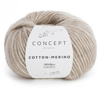 Concept by Katia Cotton Merino, Beige 104
