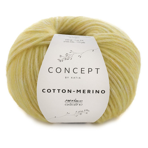 Concept by Katia Cotton Merino, Yellow 130