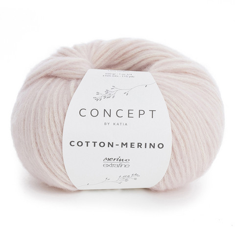 Concept by Katia Cotton Merino, Very Light Rose 103