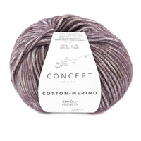 Concept by Katia Cotton Merino, Aubergine 134