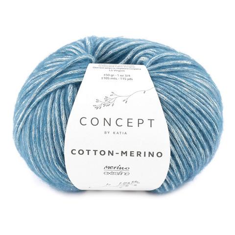 Concept by Katia Cotton Merino, Blue 133