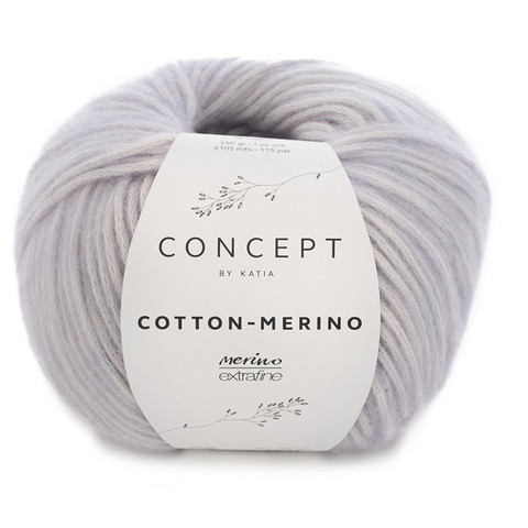 Concept by Katia Cotton Merino, Mauve 128