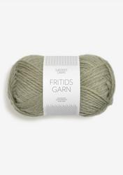 Sandnes Fritidsgarn, dimmigt grönmelerad 9041