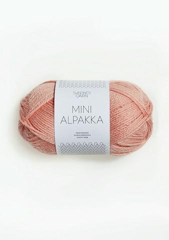 Sandnes Mini Alpakka, roseslör 4022