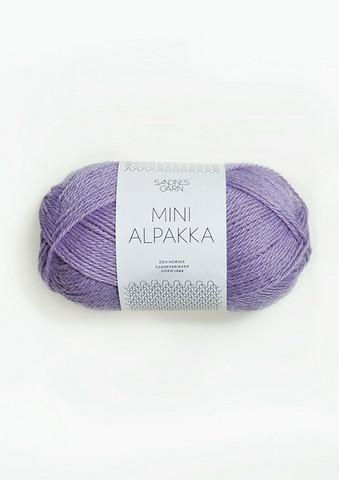 Sandnes Mini Alpakka, liila 5043